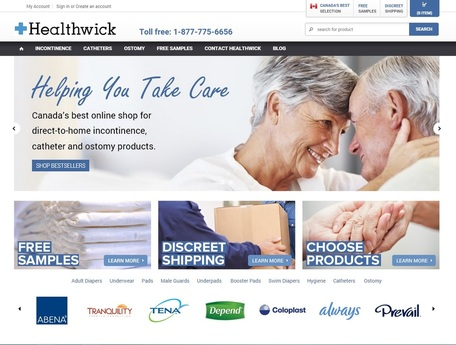 Adult Diapers and Incontinence Products from Healthwick.ca